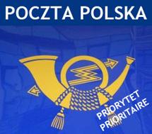 Nasze paczki z kolagenem doręcza również Poczta Polska